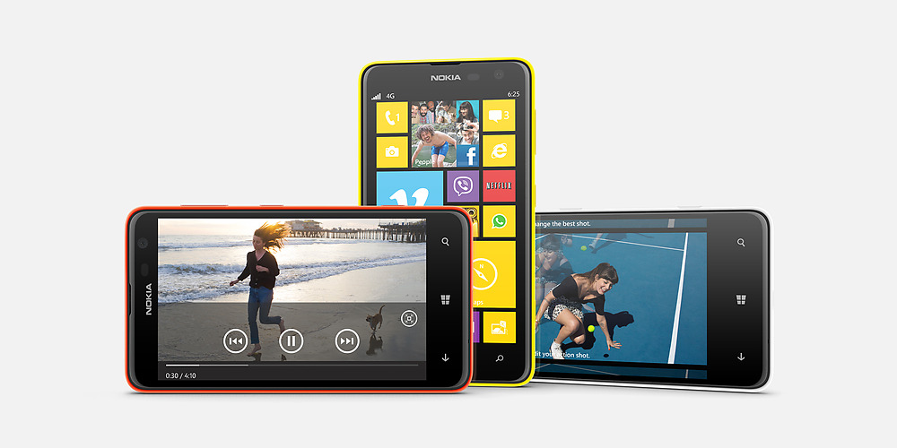 Nokia Lumia 625 4G Phone