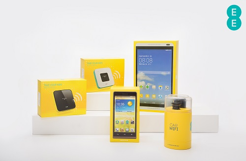 New 4G WiFi Products from EE