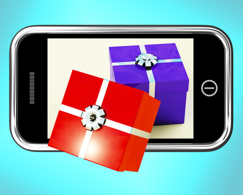 Mobile Christmas shopping with 4G