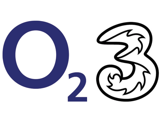 Three and O2 4G networks